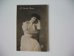 CPA Espagne Artiste Femme  - Tajeta Fotografica -  Artista  A. Sanchez Fimenez  - Postkarte Spanien - Otros