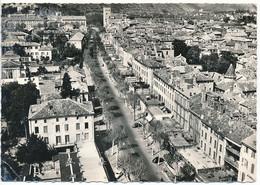 """CAHORS EN QUERCY (52.Haute Marne) Le Boulevard Gambetta. """"en Avion Au-dessus De..."""" Ed. Lapie - Cahors"""