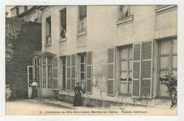78 - Mantes-sur-Seine - Institution De Mlle Nourisson  -  Façade Interieure - Mantes La Jolie