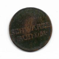 Pfennig De Louis Frédéric II Prince De Scharzburg Rudolstadt, 1801 - Petites Monnaies & Autres Subdivisions