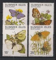 Summer Isles / Scotland - Série Complète - Neuf Luxe ** / MNH / Postfrisch - Butterflies