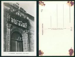 PORTUGAL - CAMINHA [ 044 ] -  IGREJA MATRIZ PORTA LATERAL - Viana Do Castelo