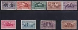 Somalia Virgilio 1930 Serie Completa Sass. 149/157 MNH** Cv 75 - Somalie