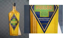 Publicité HUILOR Sur Carton / Grande Huilerie Bordelaise - Plaques En Carton