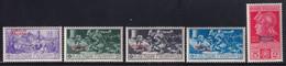 Somalia Ferrucci 1930 Serie Completa Sass. 133/137 MNH** Cv 200 - Somalie
