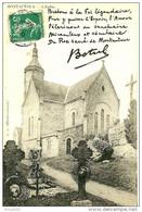 Montautour. Le Cimetière Et L'église De Montautour. - Le Châtellier
