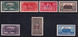 Somalia Montecassino 1929 Serie Completa Sass. 123/129 MNH** Cv 250 - Somalie