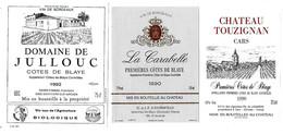 Lot De 12  étiquettes De   Première  Côtes De Blaye    Neuves     (4 Scans) - Bordeaux