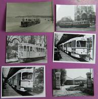 Lot De 6 Reproductions Photos Tramways De Marseille - Reproductions