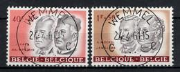 BELGIE: COB 1176/1177  Mooi Gestempeld. - Usati
