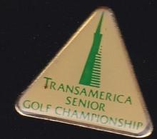 71913- Pin's-Transamerica Senior Golf Championship.Californie, Au Silverado Country Club. - Golf