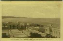 TUNISIA / TUNISIE - ZEPHYR HOTEL MARSA PLAGE - LE COP GAMART VU DE LA TERRASSE - PHOTO PERRIN TUNIS - 1920s (11231) - Tunisie