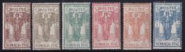 Somalia Pro Istituto 1926 Serie Completa Sass. 86/91 MNH** Cv 20 - Somalie