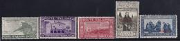Somalia San Francesco 1926 Serie Completa Sass. 81/85 MNH** Cv 75 - Somalie