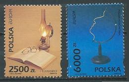Pologne YT N°3279/3280 Europa 1994 L'Europe Et Les Découvertes Neuf ** - 1994
