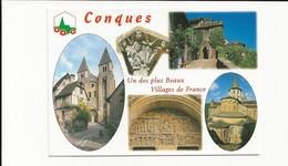 12 - Aveyron Conques Un Des Plus Beaux Village De France - Other Municipalities