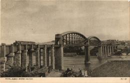 "Passenger Train Coming Over The ""Royal Albert Bridge,Saltash"" (Crome PLY107) - Altri"