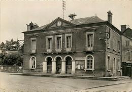 27* THIBERVILLE Mairie – Tribunal De Paix  (CPSM 10,5x15cm)   RL16,1601 - Autres Communes