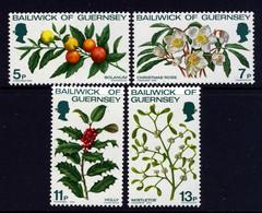 GUERNSEY - 1978 CHRISTMAS SET (4V) FINE MNH ** SG 173-176 - Guernsey