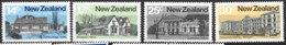 New Zealand  1980  SG   1217-20   Architecture  2nd  Series  Unmounted Mint - Unused Stamps
