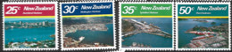 New Zealand  1980  SG   1221-4   Large Harbours    Unmounted Mint - Unused Stamps