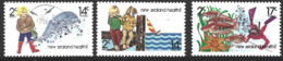 New Zealand  1980  SG   1225-7  Health Stamps    Unmounted Mint - Unused Stamps