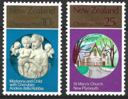 New Zealand  1980  SG   1229-30    Christmas   Unmounted Mint - Unused Stamps