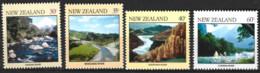 New Zealand  1981  SG   1243-6  River Scenes    Unmounted Mint - Unused Stamps