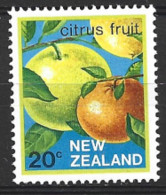 New Zealand  1982  SG   1284  20c  Citrus   Unmounted Mint - Unused Stamps