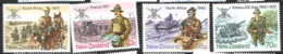 New Zealand  1986  SG  1389-92  Armed Forces  Unmounted Mint - Unused Stamps