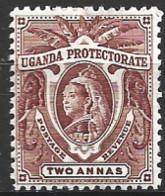 Uganda  1898  SG  86  2a  Mounted Mint - Uganda (...-1962)
