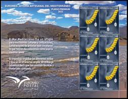 ESPAGNE SPANIEN SPAIN ESPAÑA 2021 EUROMED MEDITERRANEAN HANDMADE JEWELRY JOYERÍA PREMIUN PANE ED 5508 MI 5549 YT 5247 - 2011-... Neufs