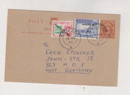 ZANZIBAR 1964 Nice Postal Stationery - Zanzibar (1963-1968)