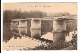 77 - SEINE PORT - Pont De Sainte Assise - Other Municipalities