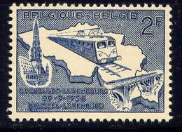 BELGIQUE - 996** - ÉLECTRIFICATION DE LA LIGNE BRUXELLES-LUXEMBOURG - Unused Stamps