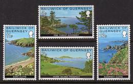 GUERNSEY - 1976 VIEWS SET (4V) FINE MNH ** SG 141-144 - Guernsey