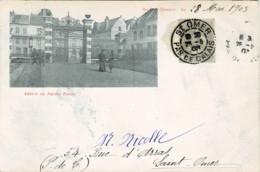 62*Pas De Calais* - Saint Omer - Entrée Du Jardin Public (précurseur) Rare - Saint Omer