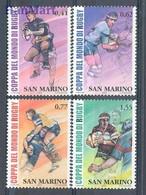 San Marino 2003 Mi 2109-2112 MNH  (ZE2 SMR2109-2112) - Rugby