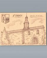 23 - Creuse - Cpm - Saint Vaury - Il Est écrit Eglise Mais Il S'agit De La Chapelle St Michel - Peu Courante - Altri Comuni