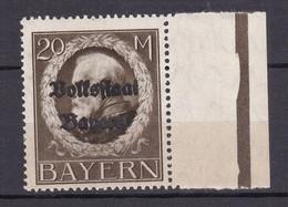 Bayern - 1919 - Michel Nr. 133 A Rand - Postfrisch - Beieren