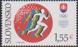 SLOVAKIA, 2021, MNH,OLYMPICS, TOKYO OLYMPICS, 1v - Summer 2020: Tokyo