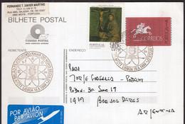 Portugal - 1999 - Bilhete Postal - Par Avion -> Argentina - A1RR2 - Cartas