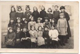 école Lycée De Jeunes Filles C.1920 Carte Photo - Constantine - Children