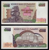 Simbabwe - Zimbabwe 500 Dollars 2004 Pick 11b UNC (1)  (17898 - Altri – Africa