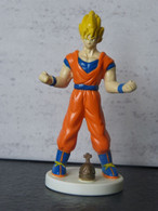 Figurine DRAGON BALL - SANGOKU SUPER SAYAN (2) - 1989 -  B.S/S.T.A 8 Cm - PVC - Drang Ball