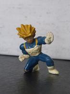 Figurine DRAGON BALL - VEGETA SUPER SAYAN (1) - 1989 -  4,5 Cm - PVC - Drang Ball