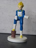 Figurine DRAGON BALL - VEGETA SUPER SAYAN (3) - 1989 - B.S/S.T.A 7 Cm - PVC - Drang Ball