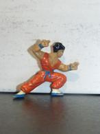 Figurine DRAGON BALL - YAMCHA (1) - 1989 -  B.S/S.T.A 5 Cm - PVC - Drang Ball