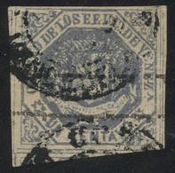 Venezuela 1873 1c Grey-violet Ovpt. Type II Inverted, Used, Minor Flaws But Overall Very Fine, MiNr. 18IIF, Cat. €100 - Venezuela