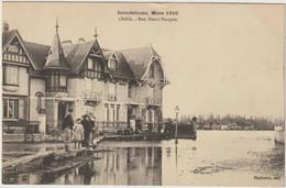 Creil-Inondations Mars 1910   -(E.6174) - Creil